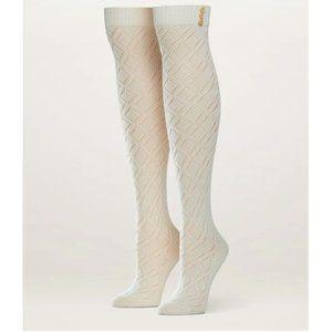 Pact Cream Over The Knee Socks